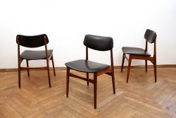 Stühle Teak 60er Jahre