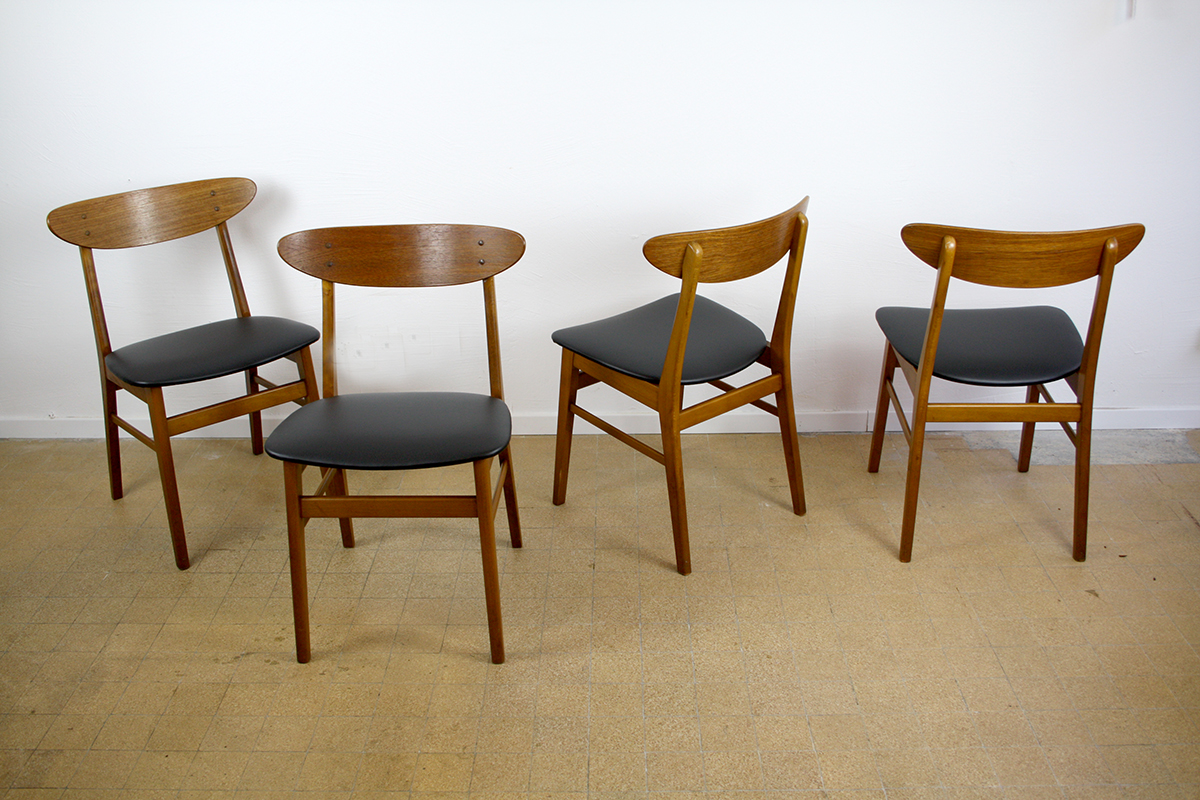farstrup danish design 60s chair stühle